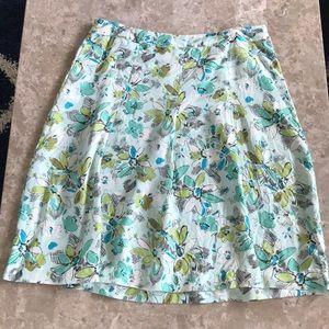 Merona 100% silk skirt
